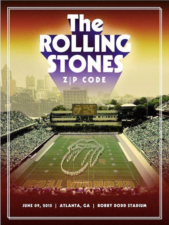 The Rolling Stones - Zip Code Tour 2015 - Atlanta | Rolling stones ...