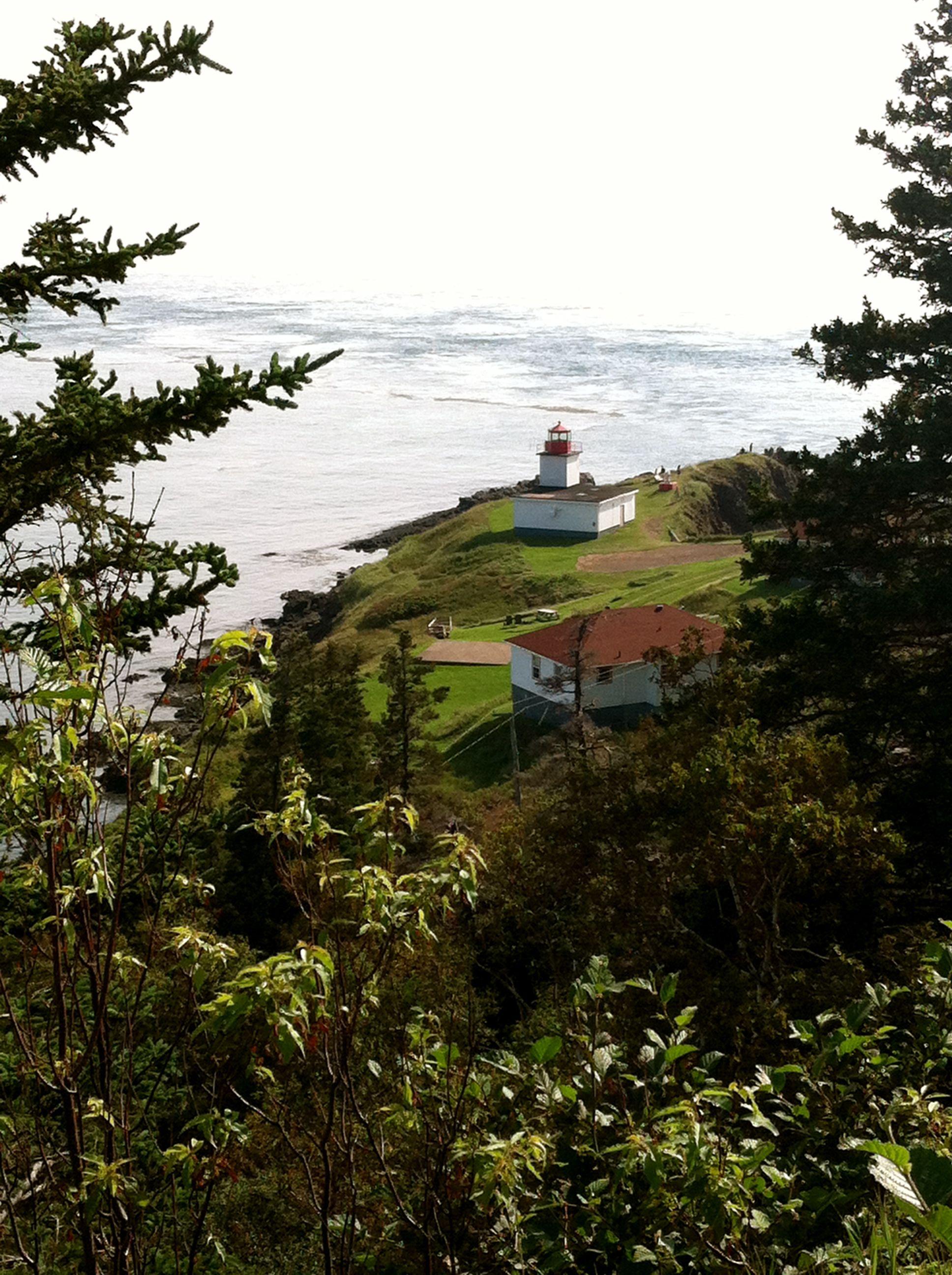 Lighthouse at Cape d'Or, Nova Scotia, Canada