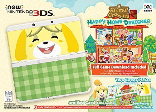 Nintendo Animal Crossing: Happy Home Designer + New 3DS