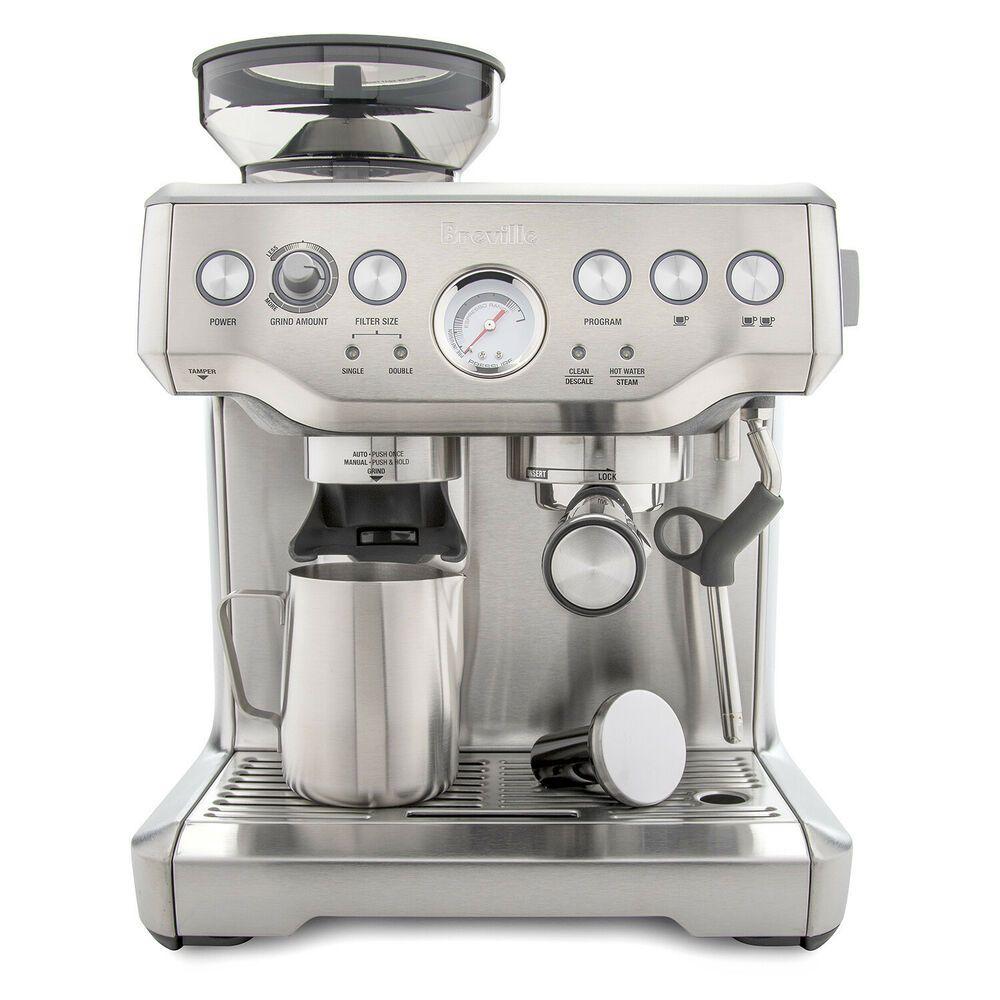 Breville Bes870xl Barista Express Espresso Machine Espresso Machine Espresso Home Espresso Machine
