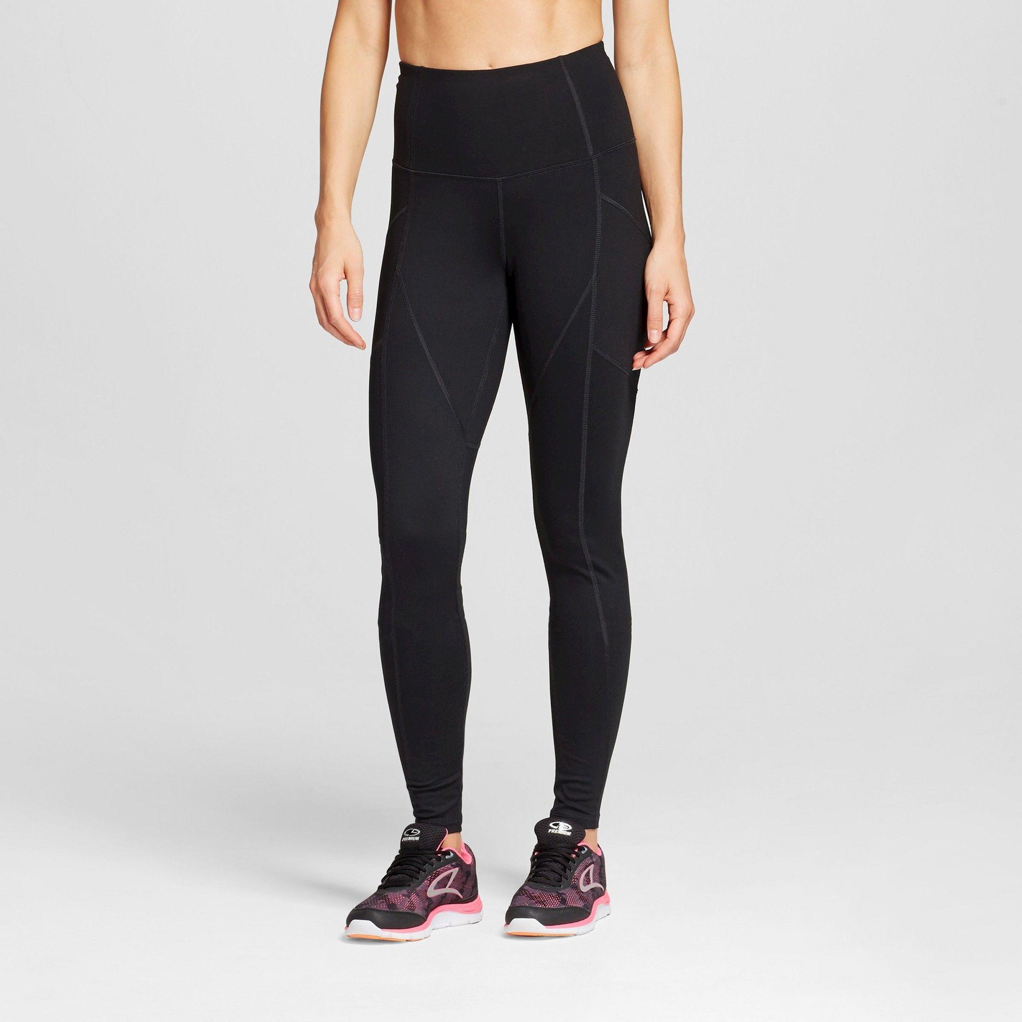6ab24619fba53 Women's Flawless High Waisted Tights - C9 Champion Black Xxl-Shorts, Size:  Xxl - Short
