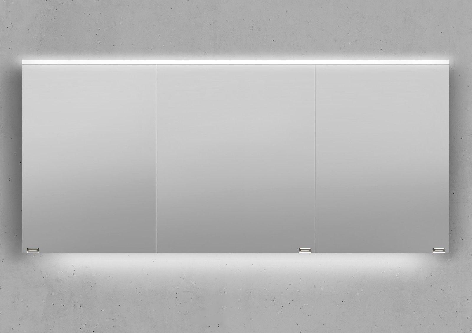 Design Spiegelschrank Mit Beidseitig Verspiegelten T Ren Inkl T Rd Mpfungen Ma E B H T 1600 718 130 Mm Im Inneren Des Spi In 2020 Bathroom Home Decor Decor