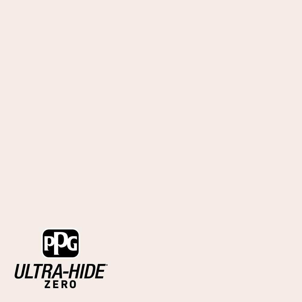 PPG Ultra-Hide Zero 5 gal. #PPG1191-1 Summer Lily Eggshell Interior Paint-PPG1191-1Z-05E - The Home Depot