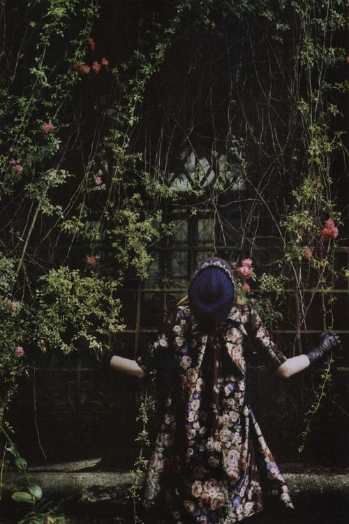 """Grey Gardens"". Photographed by Alexandra Catiere for Crash Fall/Winter 2009"