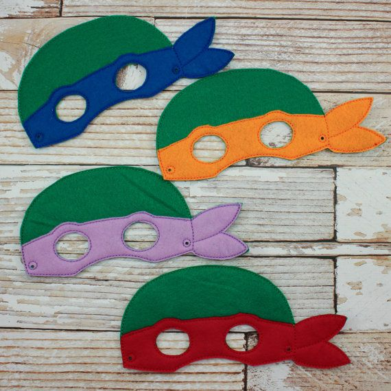 Ninja Turtle Mask Felt Ninja Turtle Mask For Parties