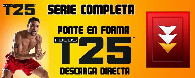 Focus T25 | Ejercicios Adelgazar | Serie Completa | El Blog de Quink32