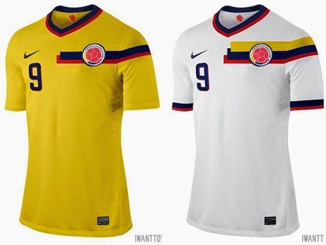 Camiseta Selección Colombia Nike  340786ffb