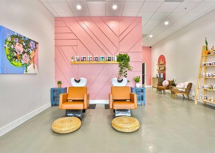 Wild Ivy Salon Myminerva Minerva Beauty Salon Interior Design Beauty Salon Furniture