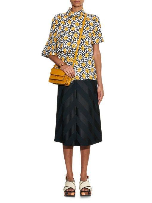 Marni Trunk Mini leather shoulder bag  e4bc28f4f12ac