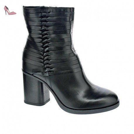 44b1ef18fb907d Bottines - Boots, color Noir , marca MJUS, modelo Bottines - Boots MJUS TUJA