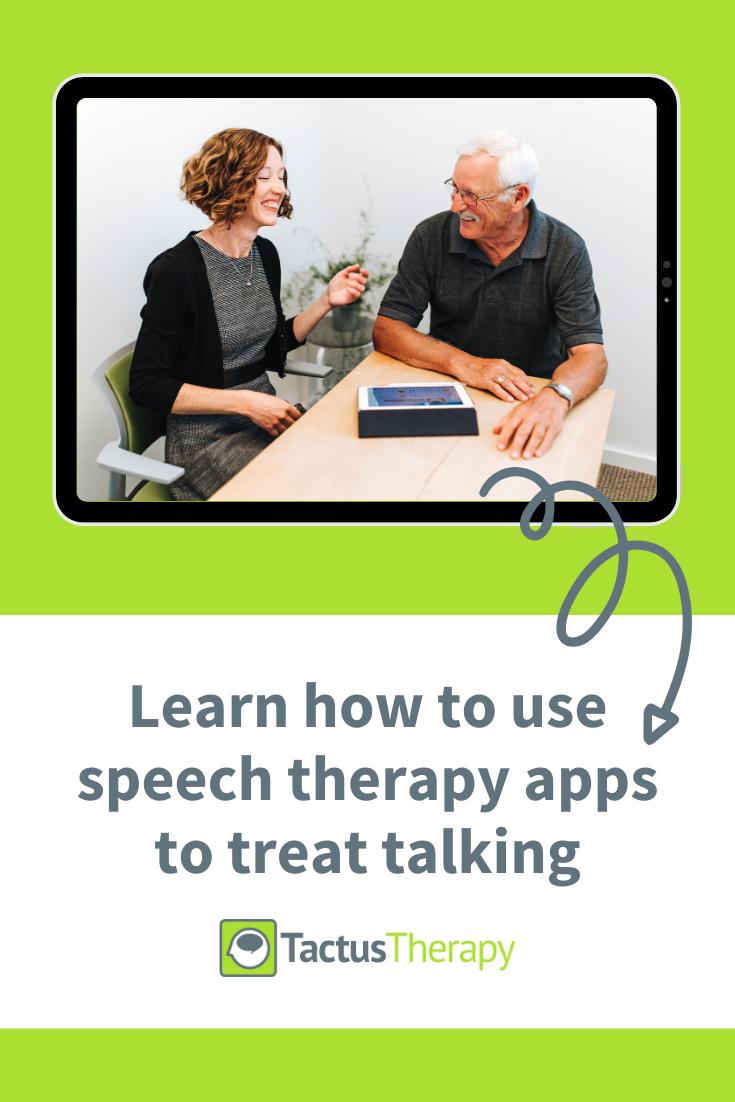Using Speech Therapy Apps to Treat Talking Speech