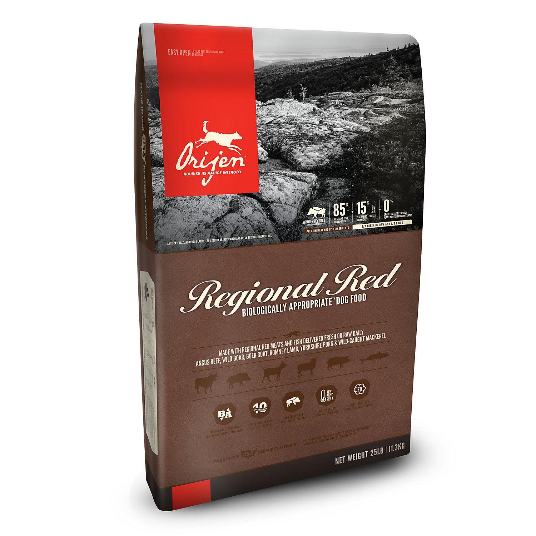 ORIJEN Regional Red Dry Dog Food, 12 oz in 2019 Grain