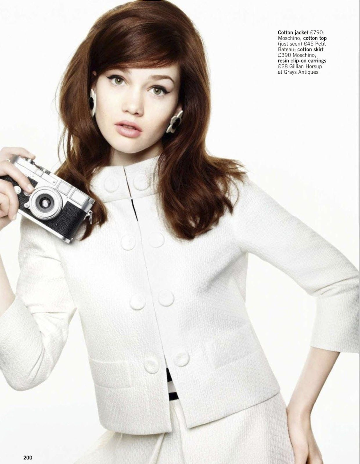 mod rules: lena lomkova and charlie mills by walter chin for uk glamour.
