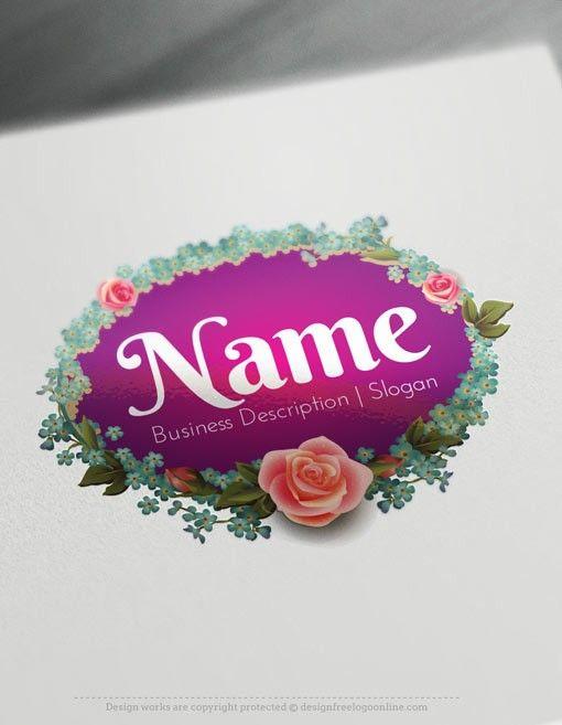 Online Free Logo Creator - Stylish Hanger Logo Maker | Pinterest