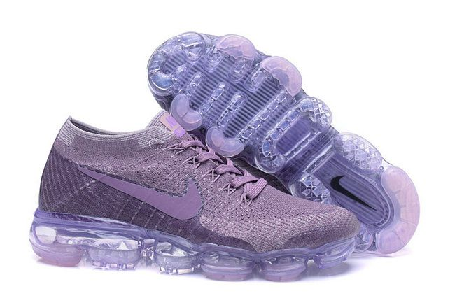 2017 2018 Daily Nike Air VaporMax 2018 Purple Shoe For Sale
