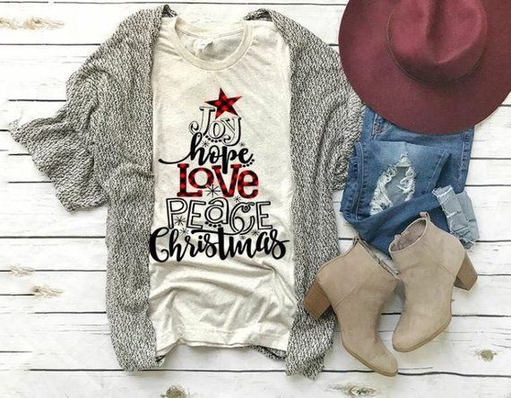 Womens Christmas Shirt, Joy hope love shirt, Christmas, Tis the Season for christmas Movies, Christmas Family Shirt, Holiday Shirts,