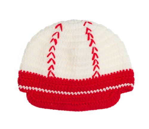2d0d20547f2 Crochet knit baseball hat by juDanzy in sizes from 0-3 years (Medium (