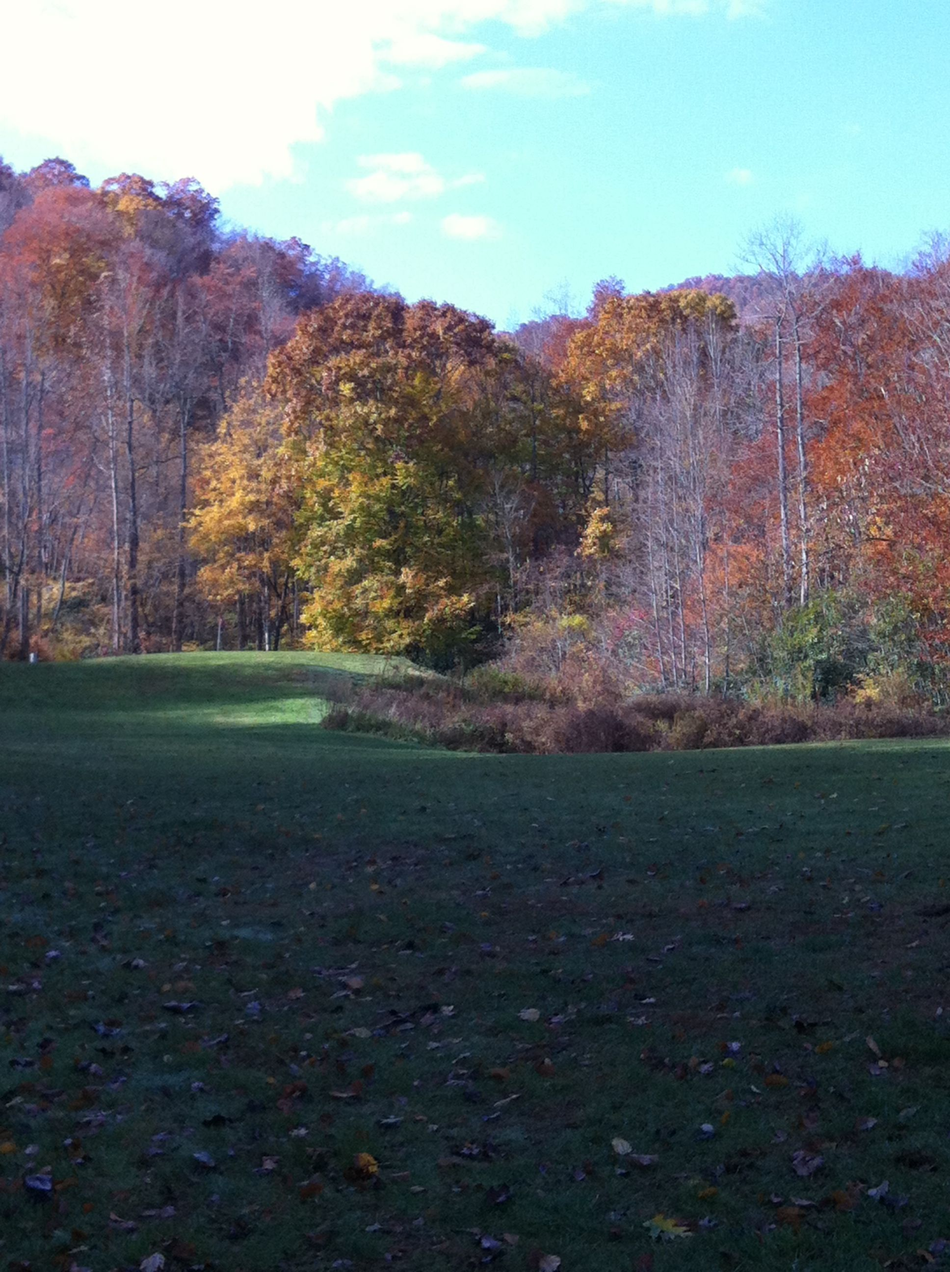 Golf course at Smokey Mountain Country Club 2013