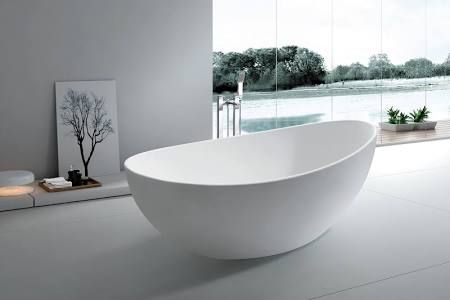 The Interior Gallery Yl6078 Roma Solid Surface Modern Bathtub