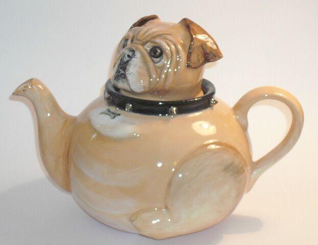 Novelty Tea Kettles ~ Bull dog novelty teapot teapots pinterest
