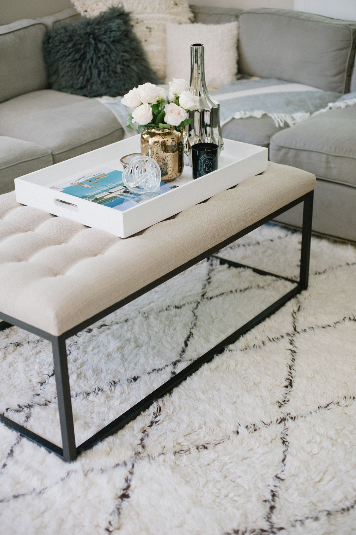 25 Tray Chic Moments You Should Steal Home coffee tables