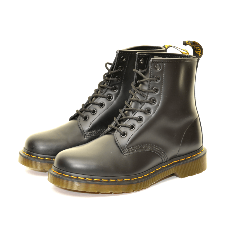 new design huge inventory best sneakers Dr Martens 1460 8-Eyelet Lace Up Boot - Black Smooth - UK 12 ...