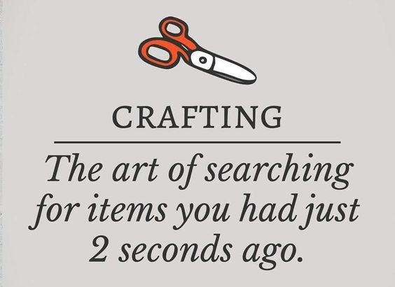 Sewing Humor: The Definition of Crafting • I Sew Free