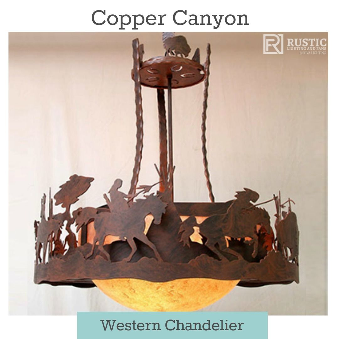 Copper canyon western chandelier western horsedecor westerndecor copper canyon western chandelier western horsedecor westerndecor westernlighting arubaitofo Image collections
