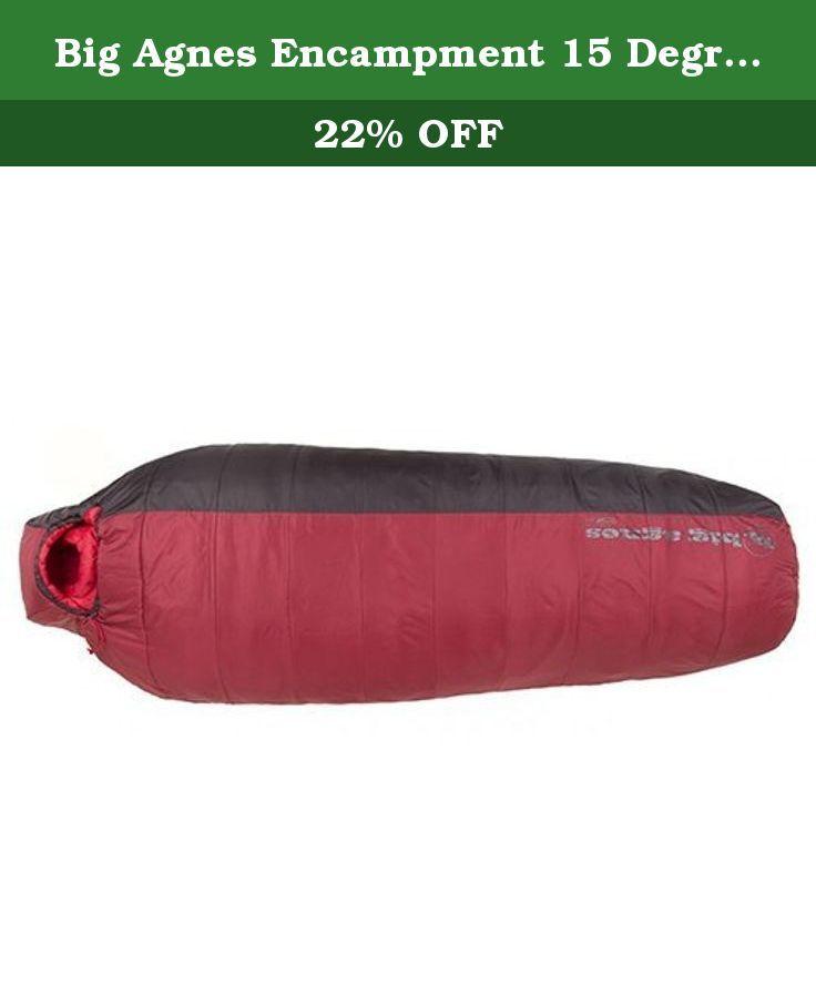 Agnes Encampment 15 Degree Synthetic Long Sleeping Bag The