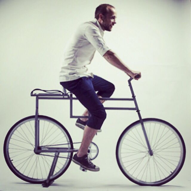 The Baubike Is Inspired By Bauhaus And Designed By Michael Ubbesen