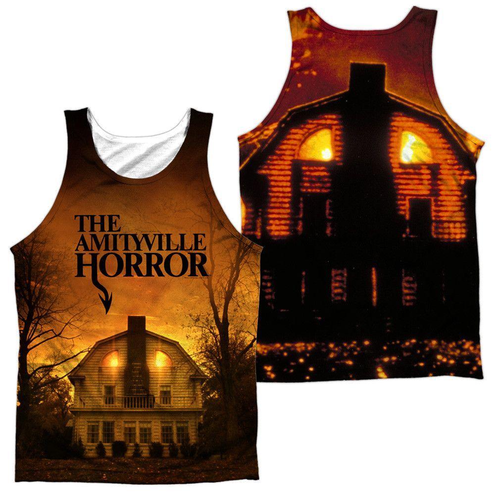 Amityville Horror - House Adult Tank Top