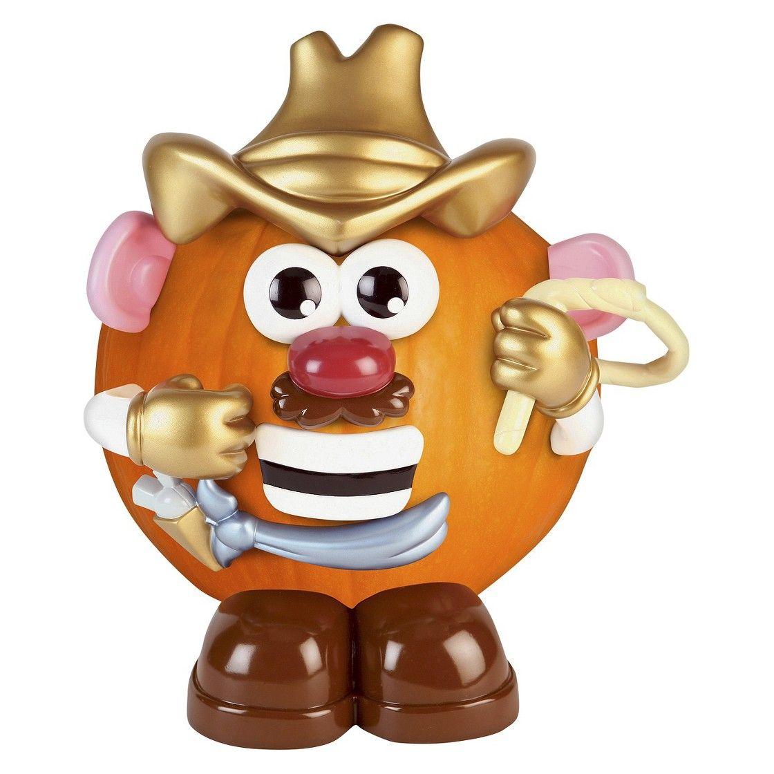 Mr Potato Head Cowboy Pumpkin Decorating Kit