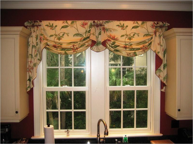 41 Perfect Farmhouse Country Kitchen Curtain Valances Ideas