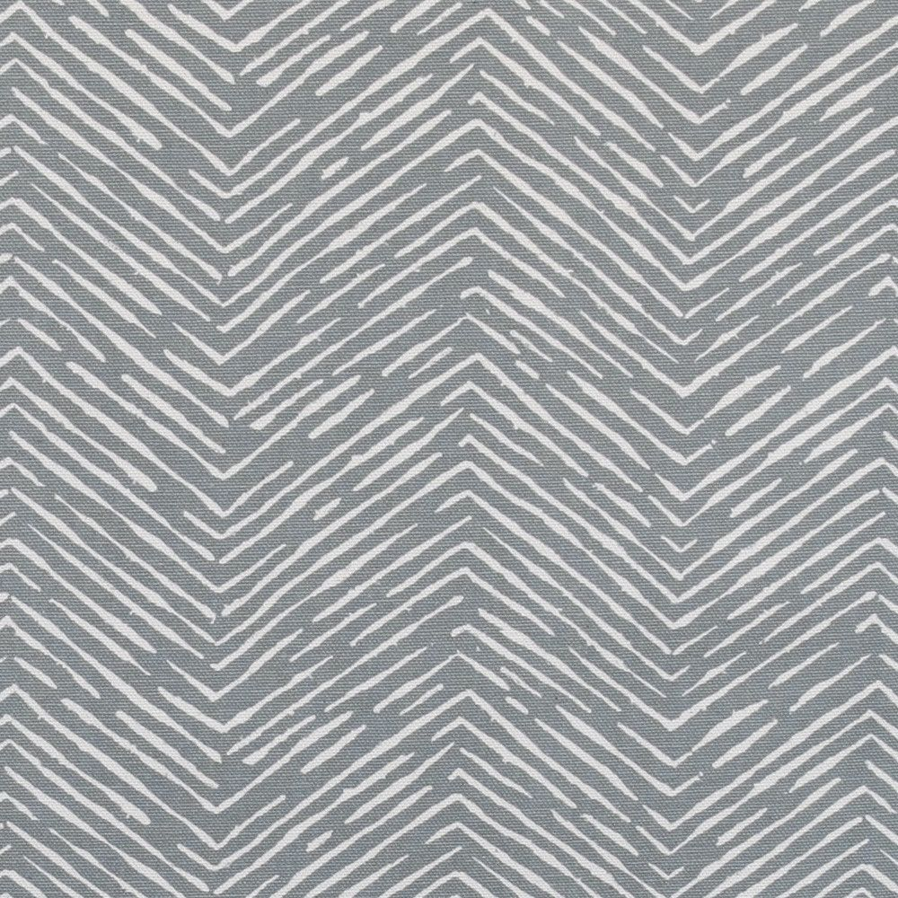 A hand drawn chevron fabric in darker, charcoal grey (with a ...