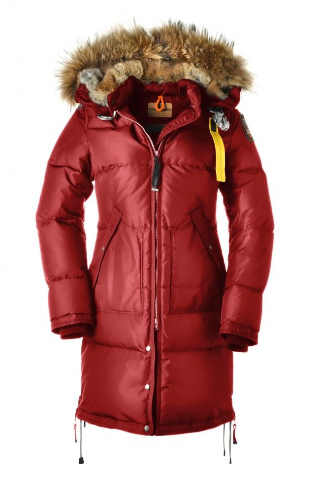 the latest fccaa 1ee4b Parajumpers Long Bear W Parka - A feminine down parka with ...