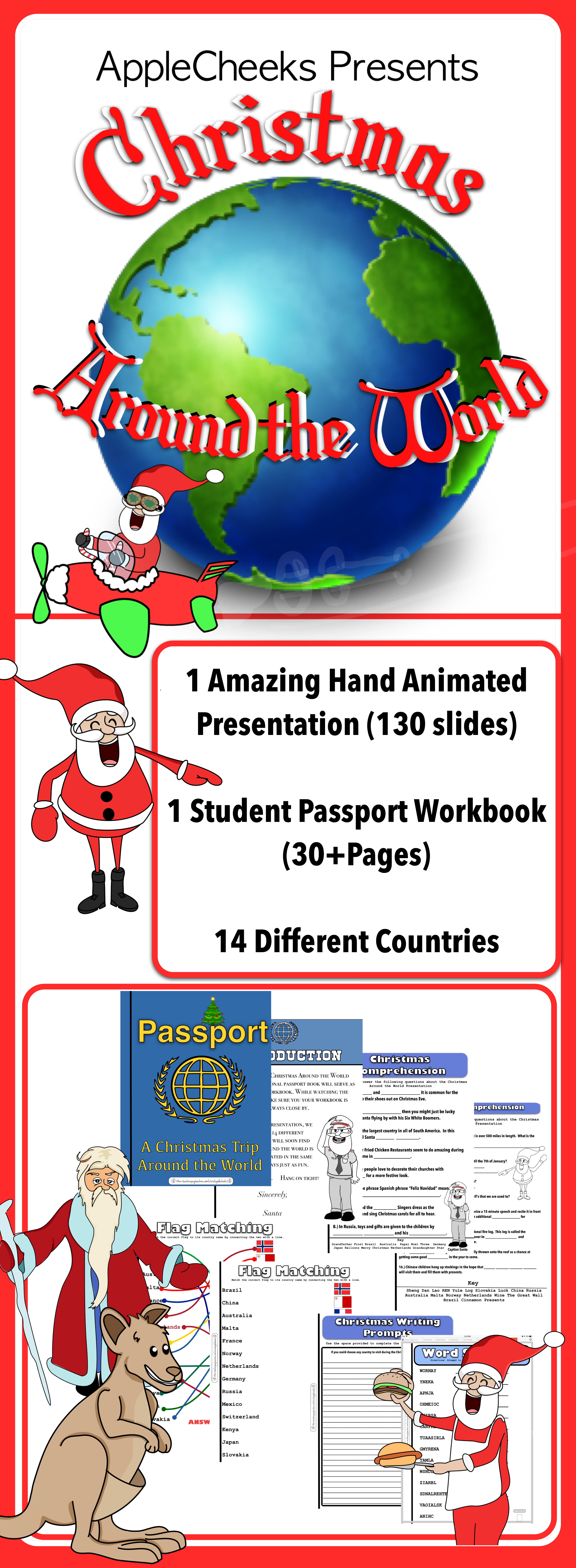 The Best Christmas Around The World Presentation With