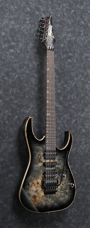 ibanez rg1070pbz ckb rg premium series hsh poplar burl top electric guitar w zero edge ii. Black Bedroom Furniture Sets. Home Design Ideas