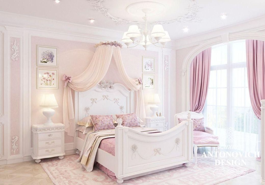 20 Beautiful Kids Bedroom You Can Decorate With A Princess Design Luxurious Bedrooms Minimalist Bedroom Furniture Modern Bedroom Design