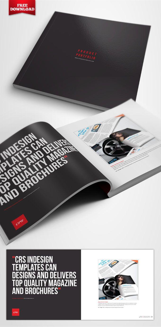 Four-Page-Portfolio-Brochure | portfolio | Pinterest