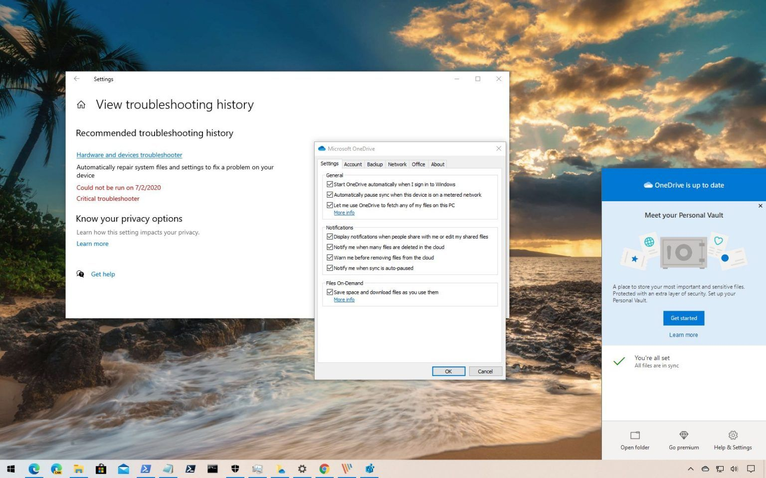 How to fix onedrive files ondemand on windows 10