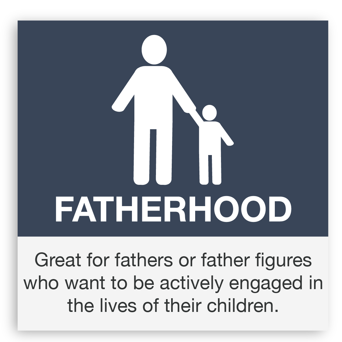 dads matter too which is why we offer free fatherhood specific