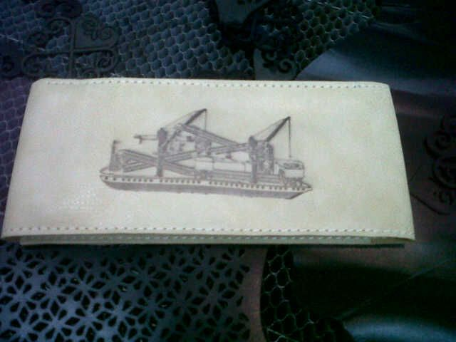 engrave on leather media
