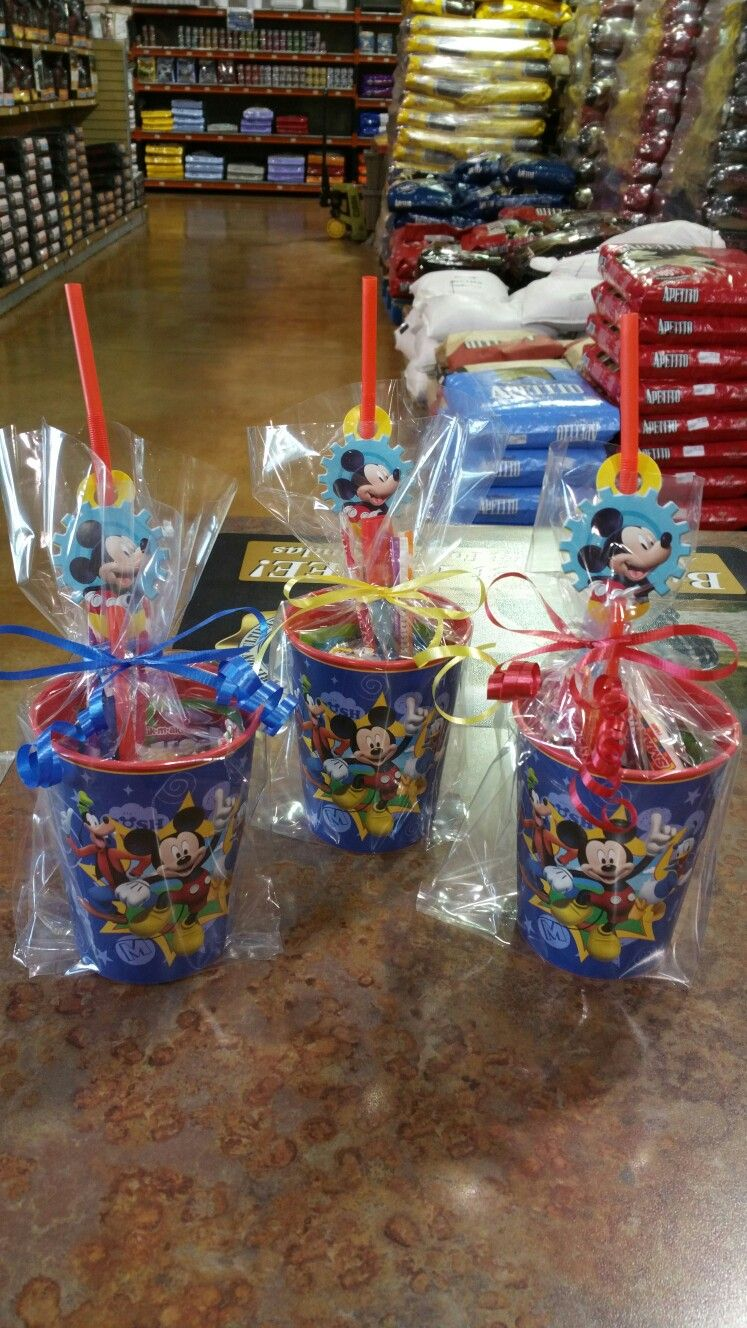 Candy Bags For Mickey Mouse Clubhouse