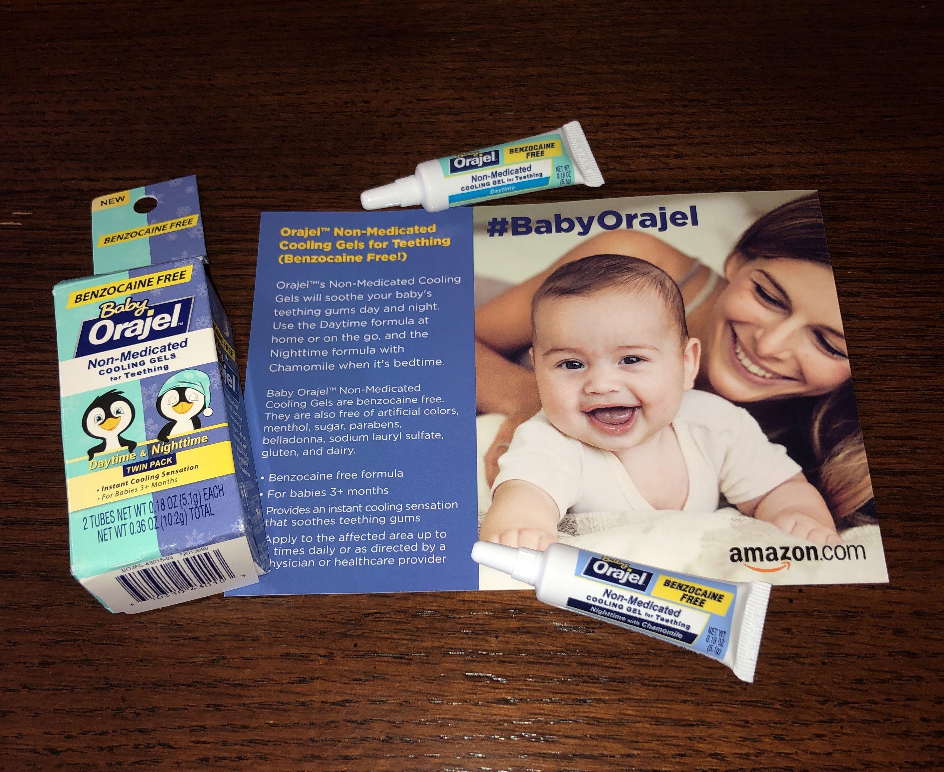 Baby Orajel Non Medicated Cooling Gels Teething Gums Baby Medical