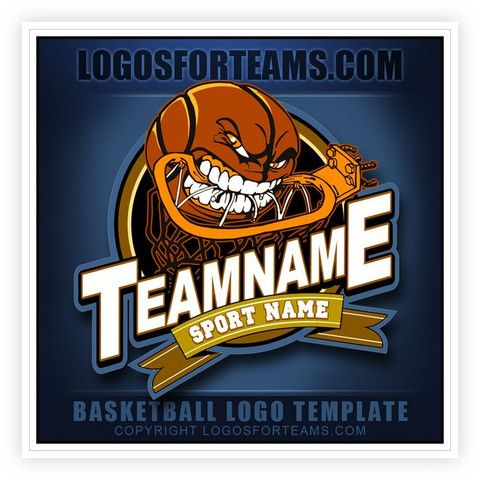 Basketball Logo Template S3