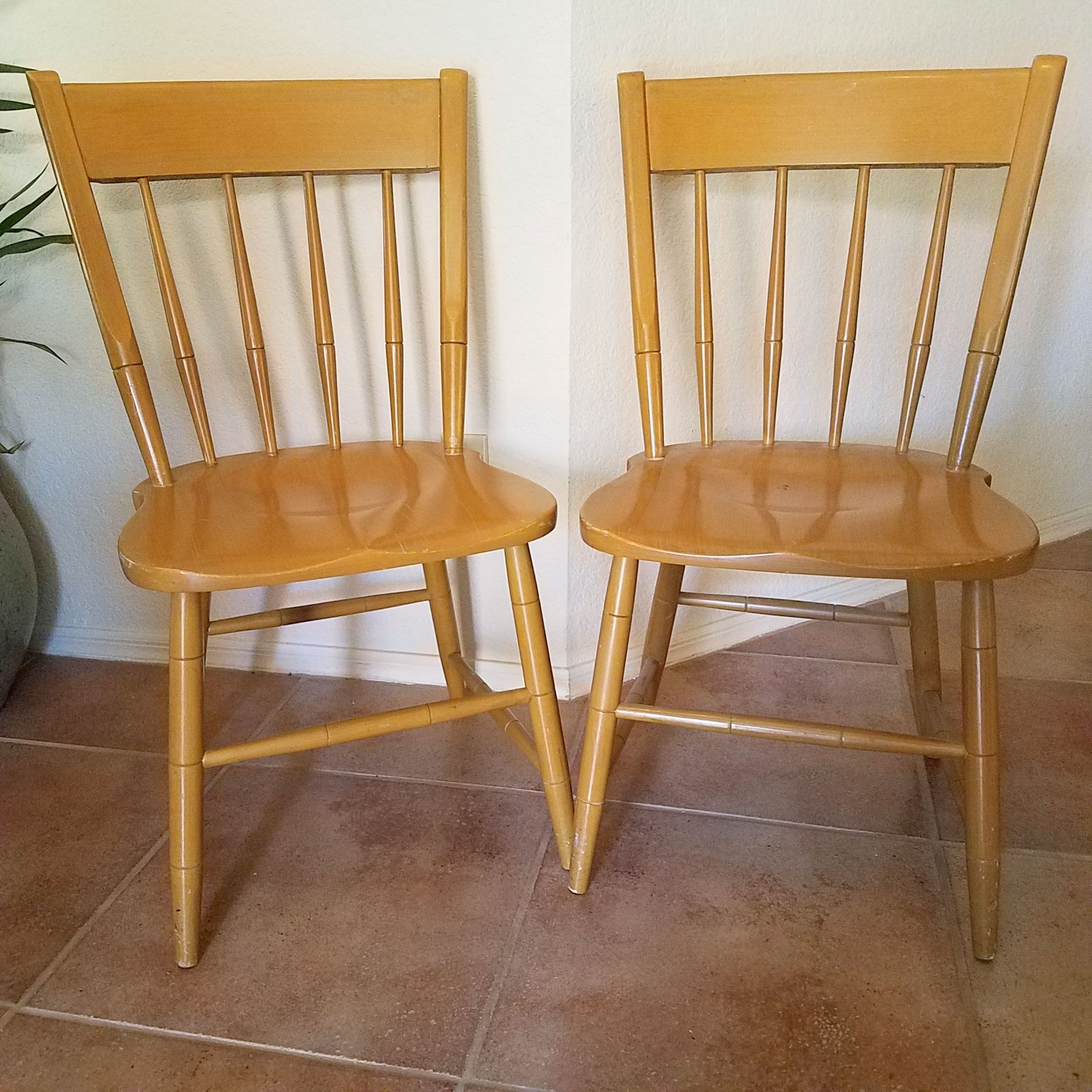 Heywood Wakefield dining chairs. Available on Phoenix ...
