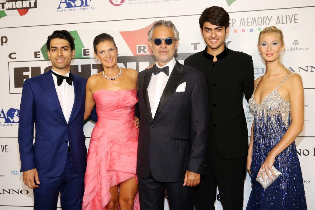 Matteo Bocelli And Veronica Bocelli Photos Photos 2015 Celebrity