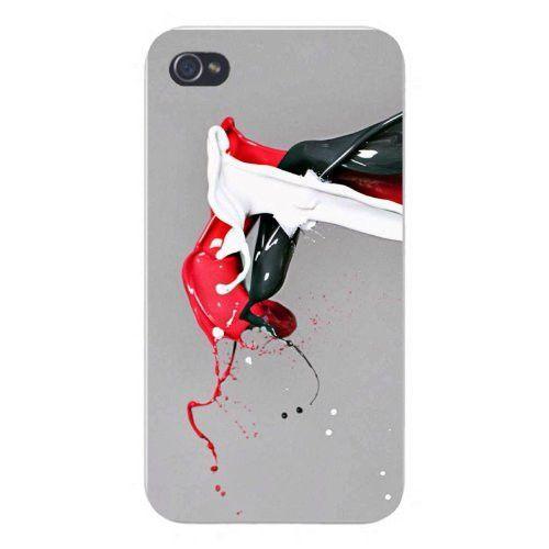 Apple Iphone Custom Case 4 4s Snap On