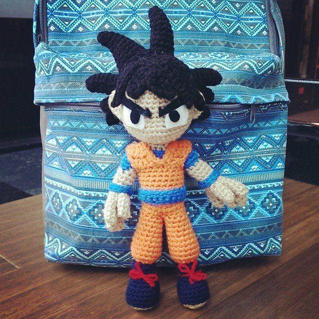 Goku (Crochet) by SirPurlGrey | personajes | Pinterest | Patrones ...