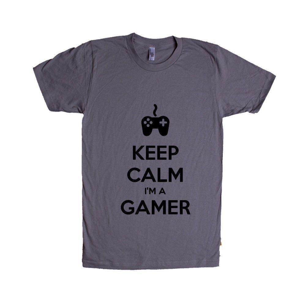 Keep Calm I'm A Gamer Game Video Games Computers Xbox Playstation PC Gaming Nerd Nerds Geek Geeks Unisex Adult T Shirt SGAL3 Unisex T Shirt